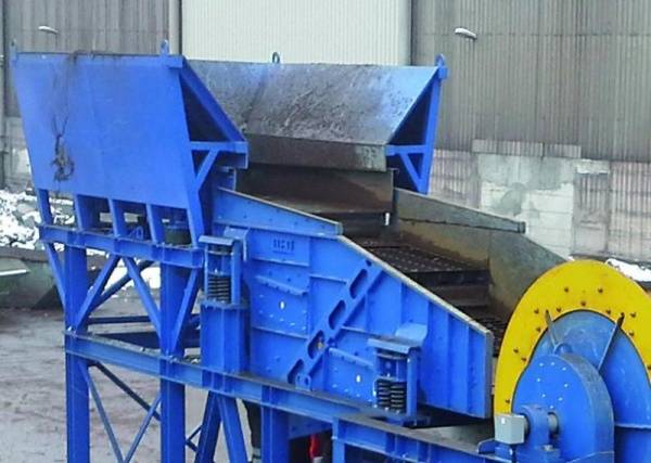 interVIB vibratory screen improves scrap metal quality