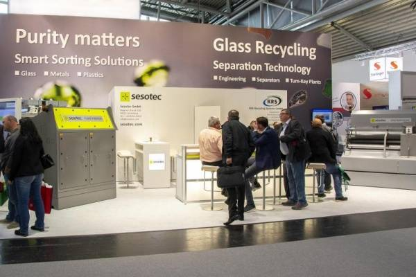 IFAT 2018 Presentation Platform for Smart Sorting Solutions Promising future prospects for the recycling industry