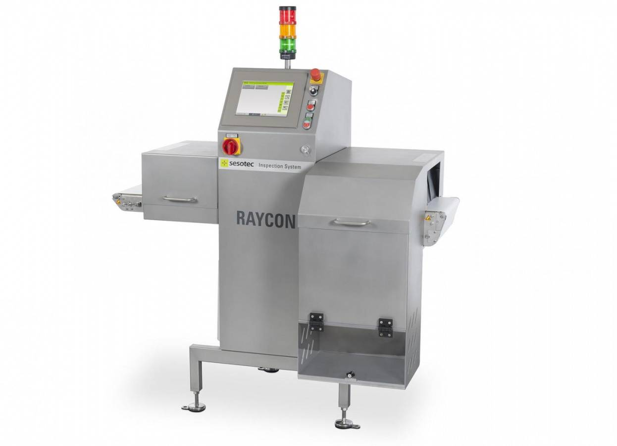Khao Shong coffee blends are investigated with an X-ray inspection system RAYCON from Sesotec.