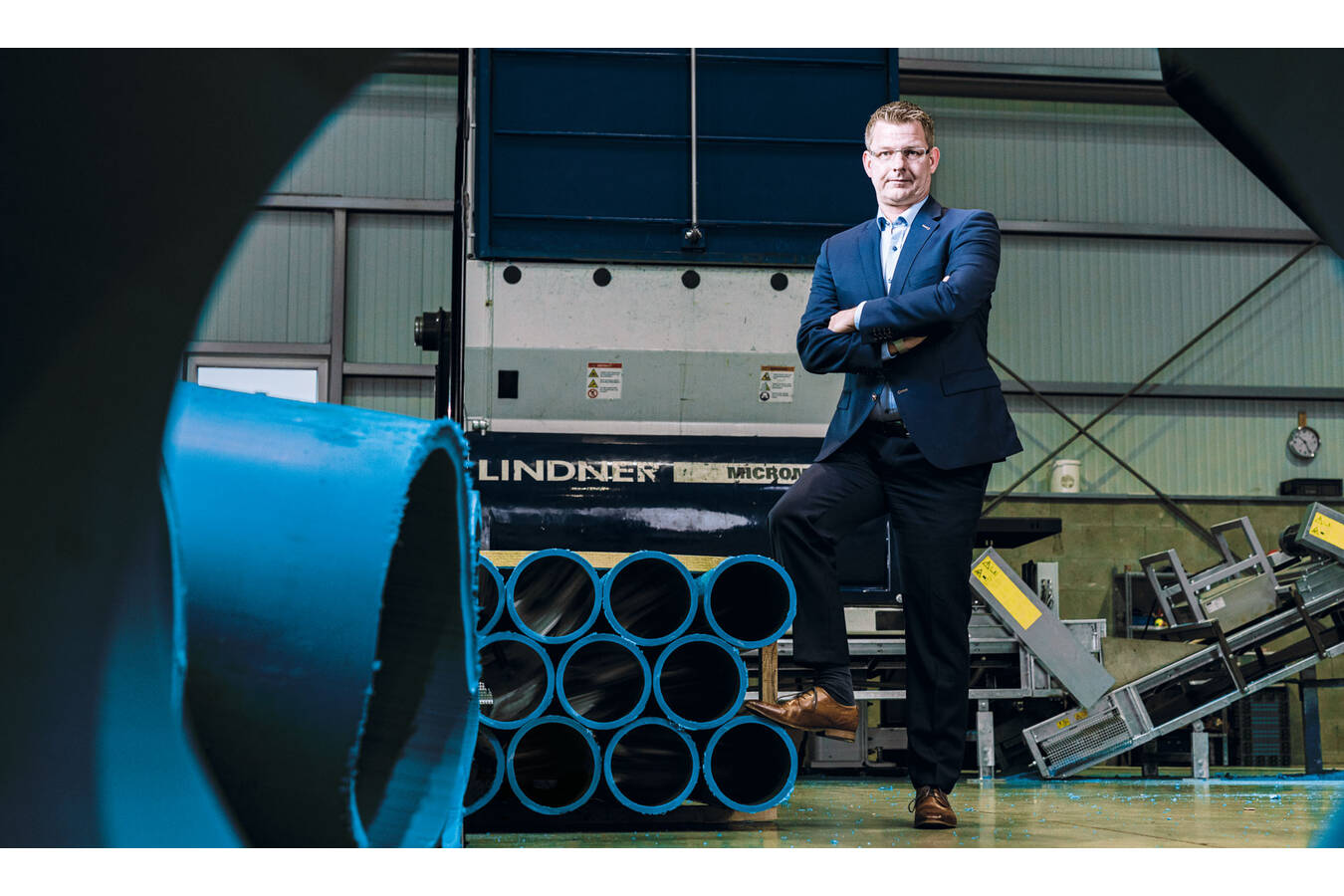 LKR Increases Capacities With Lindner's New Cutting System The productivity gains, even for difficult materials such as sheets or pipes, are astonishing.