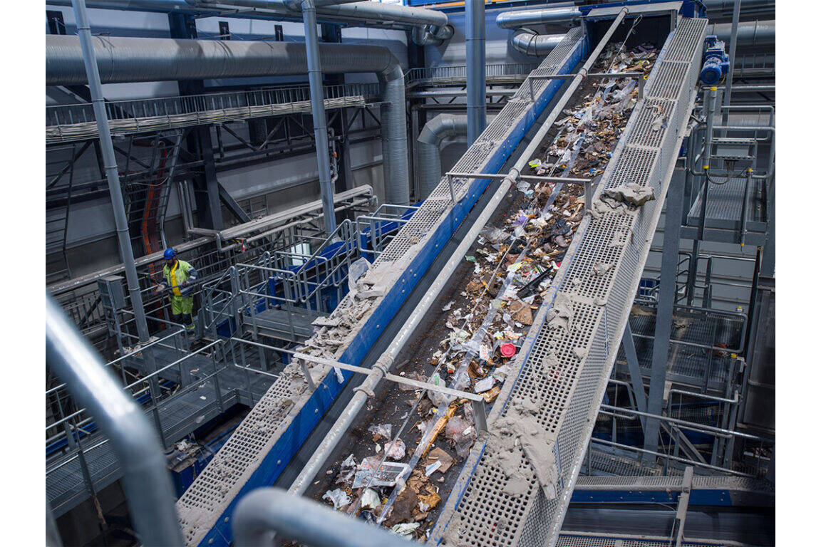 Bezner recycling installation for waste to energy plant  The new waste sorting plant built by Bezner has a major impact on the energy production, important for the goal of carbon neutral energy production in 2035